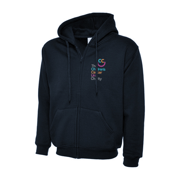 Zipper Hooded Sweatshirt - £25